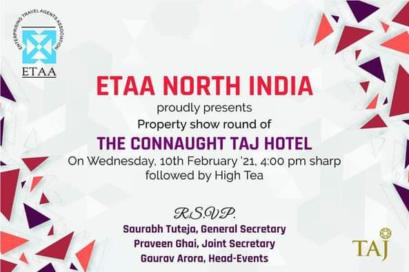 ETAA Connaught Taj Hotel